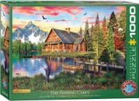 The Fishing Cabin - 1000 Pieces  Yorkshire Jigsaw Store